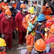 Accident minier China: 11 mineri au fost salvaţi după două săptămâni