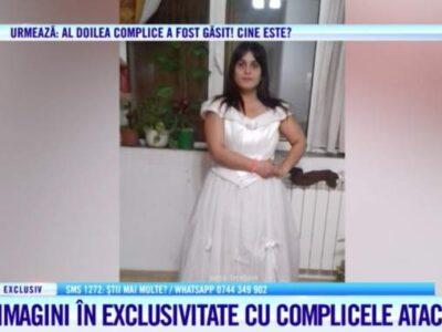 Ea e complicele atacatoarei Mirelei Vaida! A însoțit-o pe femeie până la platou și i-a dat indicații