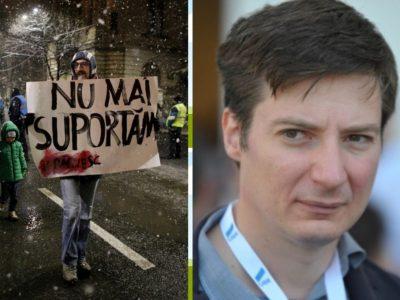 """Andrei Caramitru despre protestatarii din țară: """"Majoritatea sunt săraci, vai de capul lor"""""""