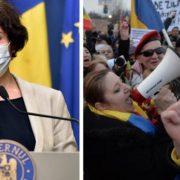 """Andreea Moldovan, mesaj pentru Diana Șoșoacă: """"Masca pe care dânsa o combate este cea care poate să o apere"""""""