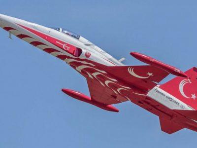 Avion NF-5 al aviației turce, prăbușit în provincia Konya/Pilotul a decedat