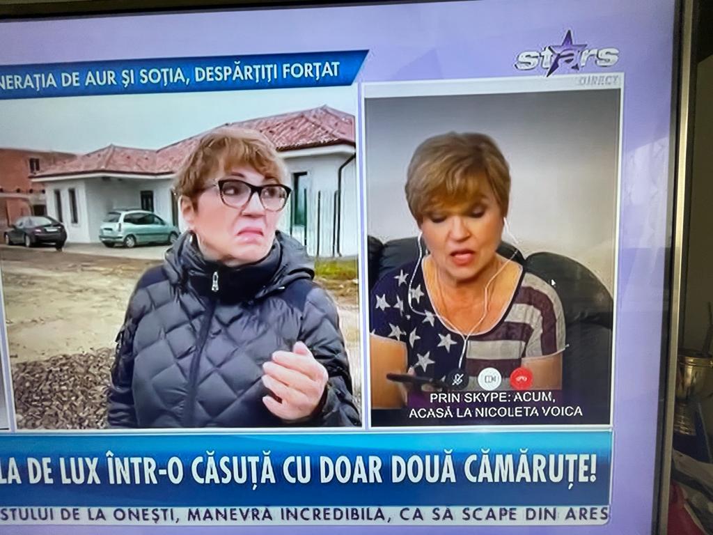 Nicoleta Voica se muta de la ferma de lux