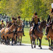 Primele imagini de la ceremonia de înmormântare a prințului Philip