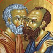 Calendar Ortodox 29 iunie 2021. Sfinții Petru și Pavel, mare sărbătoare - cruce roșieCalendar Ortodox 29 iunie 2021. Sfinții Petru și Pavel, mare sărbătoare - cruce roșie