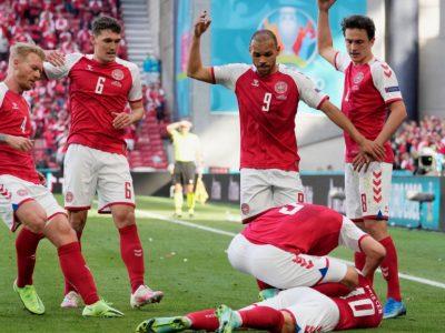 Care este starea lui Christian Eriksen. Meci anulat EURO 2020 Danemarca - Finlanda