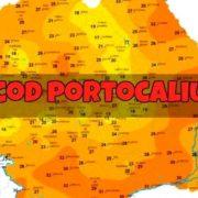 Cod Portocaliu de caniculă și pericol mare de inundații