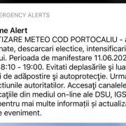 RO-Alert stați în case dacă sunteți din București, avertizare majoră emisă de ANM