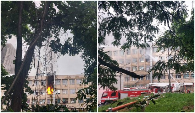 """Incendiu la Spitalul Clinic de Urgență pentru Copii """"Sfânta Maria"""" din Iași"""