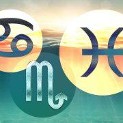 Ce se va întâmpla cu zodiile de Apă în următoarea perioadă. Previziuni pentru Rac, Scorpion și Pești