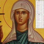Sărbătoare 24 iulie. Multe românce își sărbătoresc ziua de nume: Sfânta Mare Muceniță Hristina (Cristina)