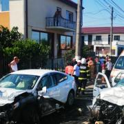 Accident rutier în județul Constanța: șapte persoane implicate. A fost solicitat elicopterul