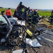 Carnagiu pe șosea. Șapte morți într-un accident rutier din Bacău