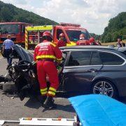 Accident cu grav în județul Brașov: 2 persoane și-au pierdut viața
