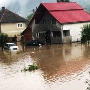 Salvare emoționantă. Ce au scos pompierii dintr-o casă inundată din județul Alba (VIDEO)