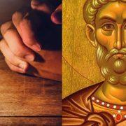 Rugăciunea către Sfântul Mina. Se citește la vreme de necaz și de întristare