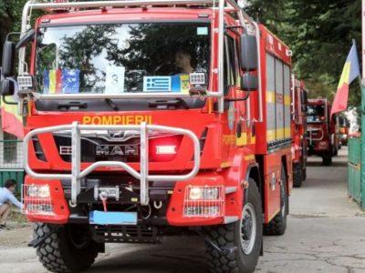 Alertă majoră de incendii în Grecia, chiar lângă capitată