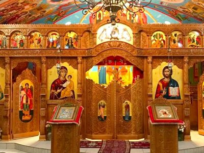 Ce au observat enoriașii într-o biserică din Gorj. Au anunțat imediat preotul