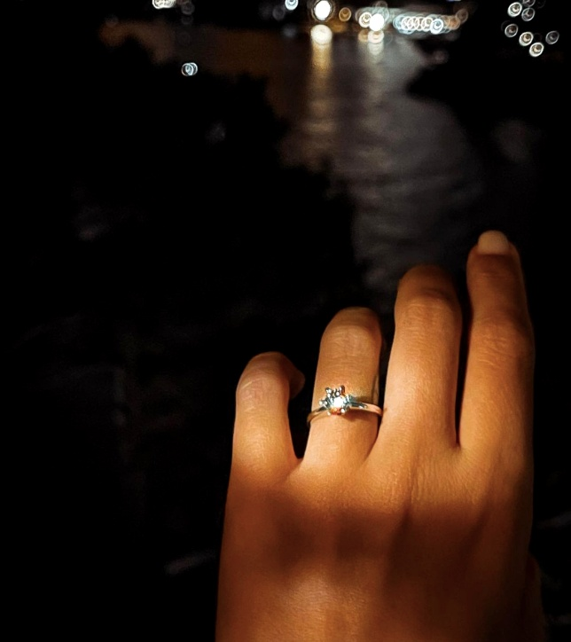 Inelul primit de Ana Baniciu
