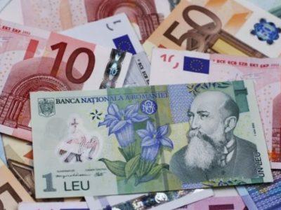 Record maxim pentru moneda euro. Leul pierde tot mai mult teren