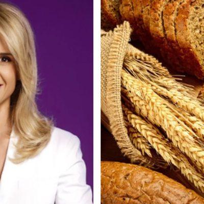Adevărul despre pâinea neagră. Mihaela Bilic demontează toate miturile