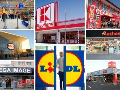 Program magazine: luni, 25 octombrie! La ce ora se închid magazinele azi: Auchan, Carrefour, Cora, Lidl, Mega Image, Penny și Profi