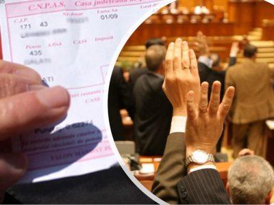 Schimbare la Casa Națională de Pensii. Parlamentarii au votat proiectul